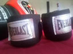Luvas + Bandagem Everlast