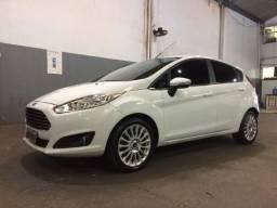 New Fiesta Titanium 1.6 2014 Top Automático e Banco de Couro - 2014
