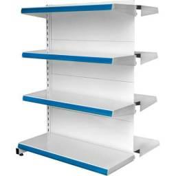 Vendo estantes de mercado um metro custa 200 e um metro e vinte custa 250