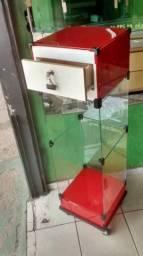 Caixa de vidro temperado