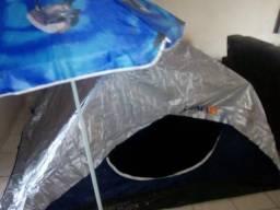 Pra quem gosta de acampar barracs luna pra 4 pessoas