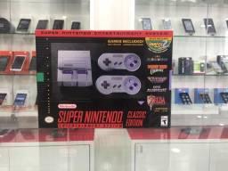 Super Nintendo Classic NOVO 21 jogos