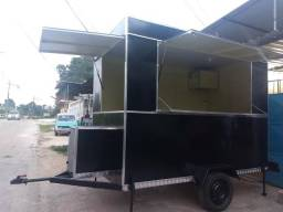 Trailer para lanches Ford 13