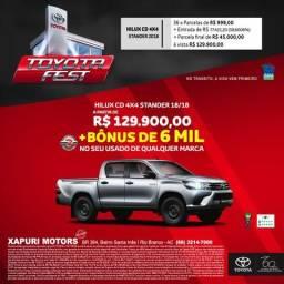 Xapuri Motors - Hilux STD Câmbio MT - 2018