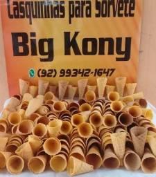 Casquinhas para sorvete Big Kony