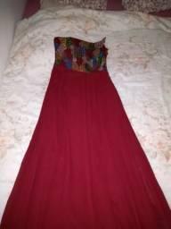 Vestido festa bordado 38