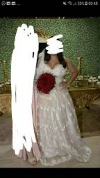 Vestido de noiva (ACEITO PROPOSTAS)