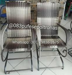 Cadeiras de fibra - Novas