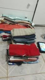 Lote de roupas bem conservadas de 08 a 12 anos