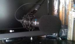 Microfone Condensador Profissional Arcano AM BK 1