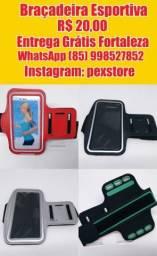 Braçadeira esportiva para celular + Entrega Grátis