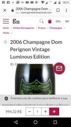 Champanhe DOm Pérignon vintage