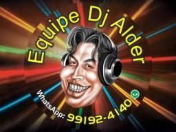 Há mais de 24 Anos DJ Alder (Equipe) Luz Negra Neon Projeção (data Show)