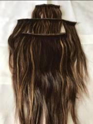 Mega hair 100% cabelo humano