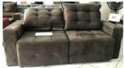 Sofa retrátil e reclinavel com 2,00 metros de largura *