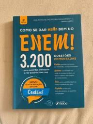 Livro novo com 3200 questões ENEM