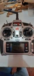 Rádio Aeromodelo Spektrum Dx7s. Dsmx