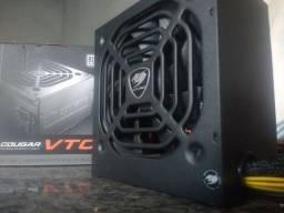 Fonte Cougar VTC 500 80 Plus