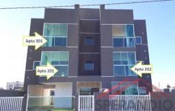 Apartamentos c/ 1 suíte + 1 quarto, a 70m do mar. Baln. Volta ao Mundo I