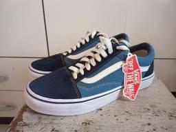 Tênis Vans Old Skool Azul raridade!
