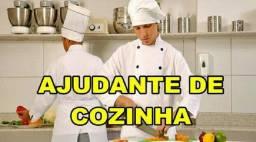 Restaurante contrata Auxiliar de cozinha/confeiteiro