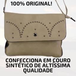 Bolsa Feminina Legitimo Original Tiracolo Transversal Couro Ecologic pequena bolsa de lado