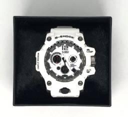 Relógio Casio G-Shock GPW-1000 Pulseira e Caixa Branca Garantia Produto Novo
