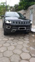 Jeep Compass Limited 18/18, Turbo Diesel 4X4, Impecável