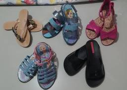 Sandelhas e sapatilhas infantil feminina 30/ 31