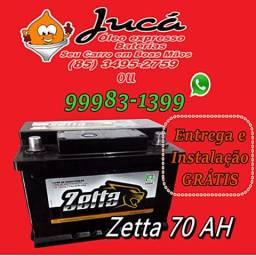 Bateria Zetta 70 ah com melhor preço da região
