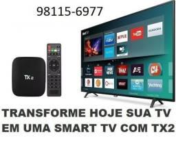 Box TV Tx 2 top de linha