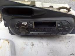 Rádio toca fita