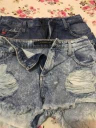 Vendo 02 shorts da DAMYLLER n36. Os 02 por 100,00