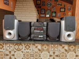 Aparelho de som 3x1, Panasonic