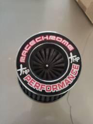 Filtro cônico esportivo Race Chrome