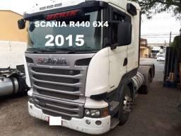 Scania R440 6X2 2015 Motor Feito R$ 310.000,00
