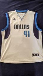 Camisa NBA Adidas Dallas Mavericks - Nowitzki - G