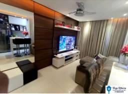 Apartamento Mobiliado com fina decoração 2/4 á venda no Parque Sun Valley, Caji