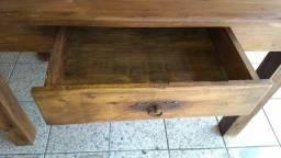 Mesa madeira Peroba Rosa