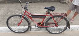Bicicleta Caloi barra 1987