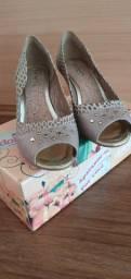 Sapato salto médio tamanho 38