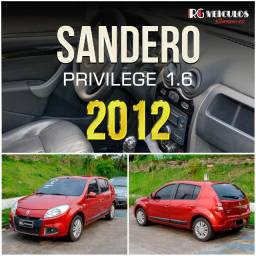 Sandero Privilege 1.6 - 2012