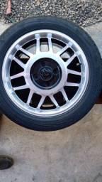 Rodas Volcano Wheels aro 15 semi nova