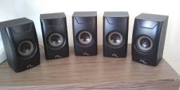 Home Theater Multilaser SP123 Extreme 150W RMS - 5.1 Canais c/ Subwoofer