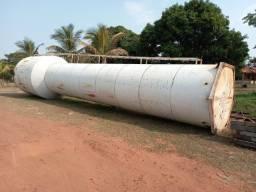 Caixa d'agua metalica tipo taça 50 mil litros
