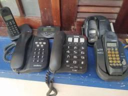 Telefone fixo - aparelho Intelbras