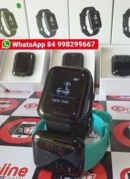 Smartwatch bracelete Smartband Relogio inteligente compatível com Android e iPhone <br><br>