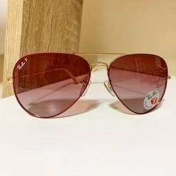 Lindos óculos com lentes polarizadas