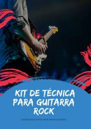 Kit de técnica para guitarra rock
