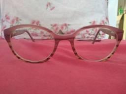 Armação de Óculos Roxa Barbada